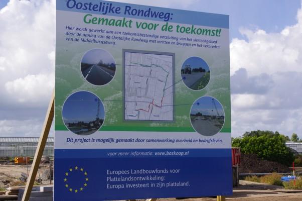 Oostelijke Rondweg Middelburgseweg infobord